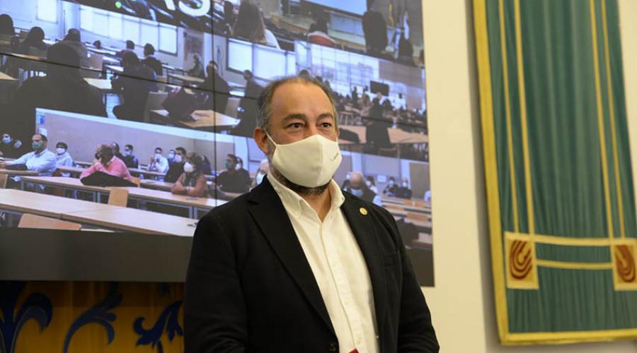 Julián Garde asume la responsabilidad como rector de la UCLM