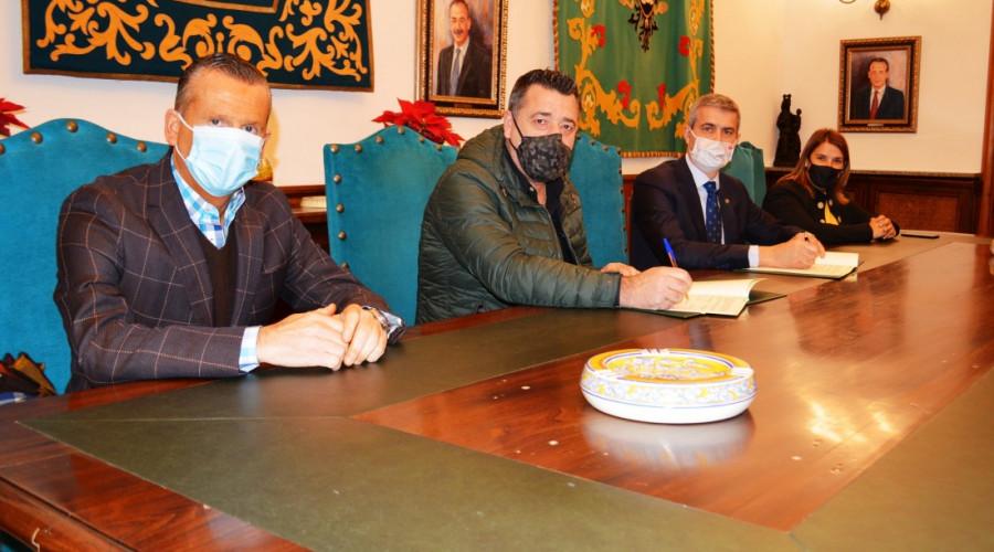 Diputación  mantiene su apoyo al C. F. Talavera