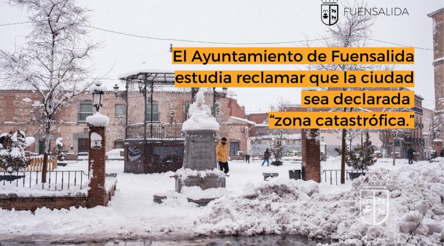"""El Ayuntamiento de Fuensalida estudia reclamar que la ciudad sea declarada """"zona catastrófica"""""""