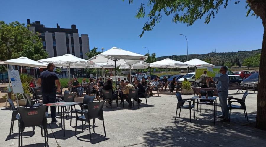 Toledo: No se cobrará a los bares la tasa por tener terrazas